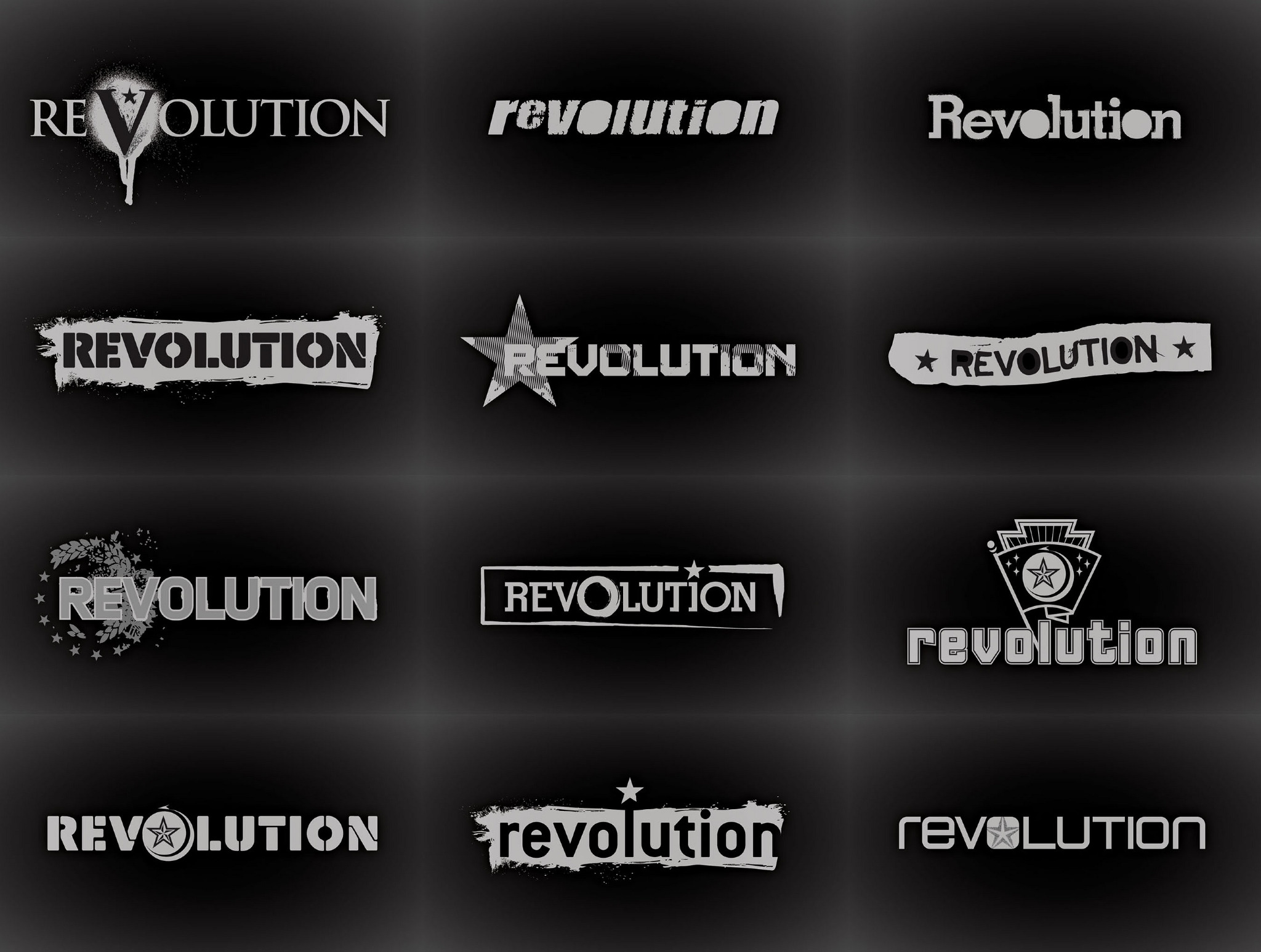 Syfy Channel / Revolution Logo - youandmestudio tv