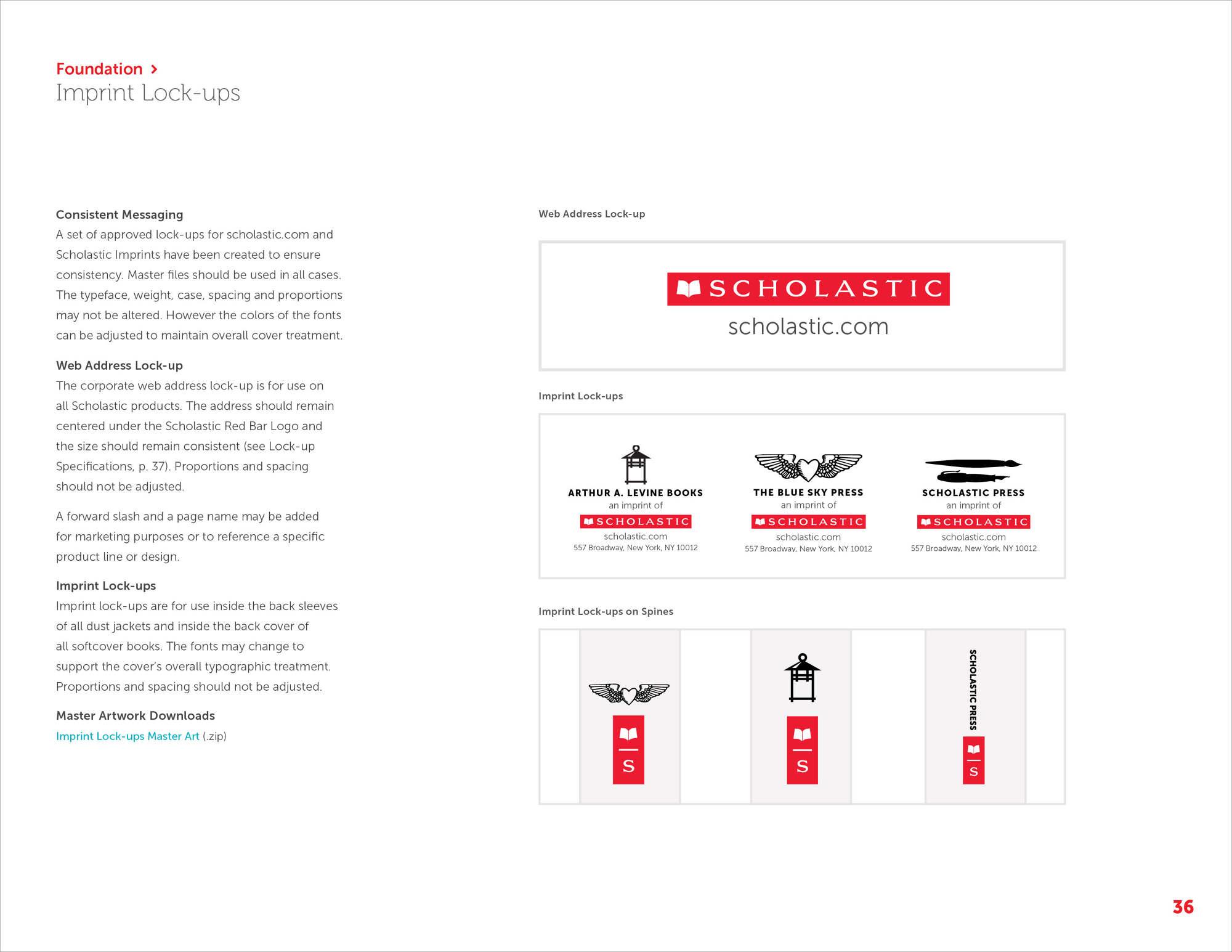 Scholastic Brand Guide Daisykimdesign Com