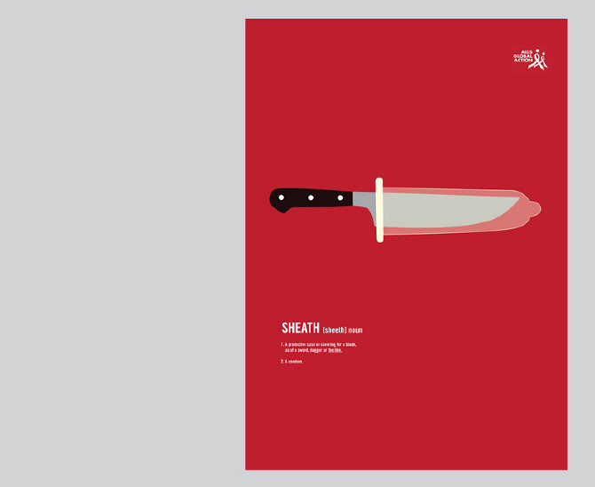 Poster for AIDS - kimjayoung.com