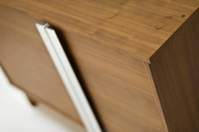 Walnut Cabinet - Plush Custom Cabinets & Furniture