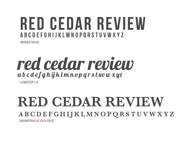 RED CEDAR REVIEW - Daniel Greco