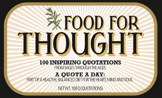 Food for thought quotes