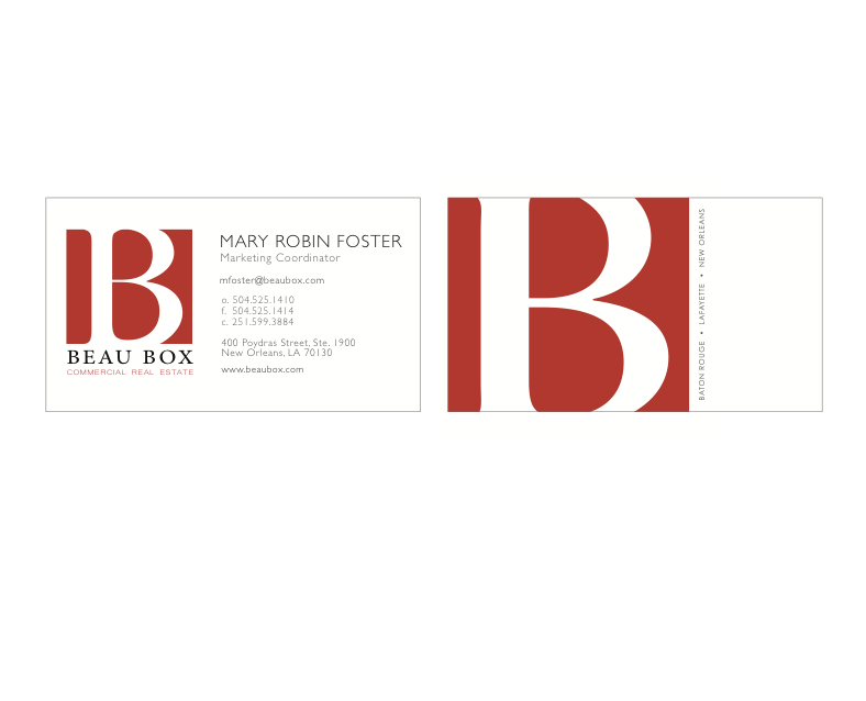 Bbcre Business Cards Maryrobinfoster