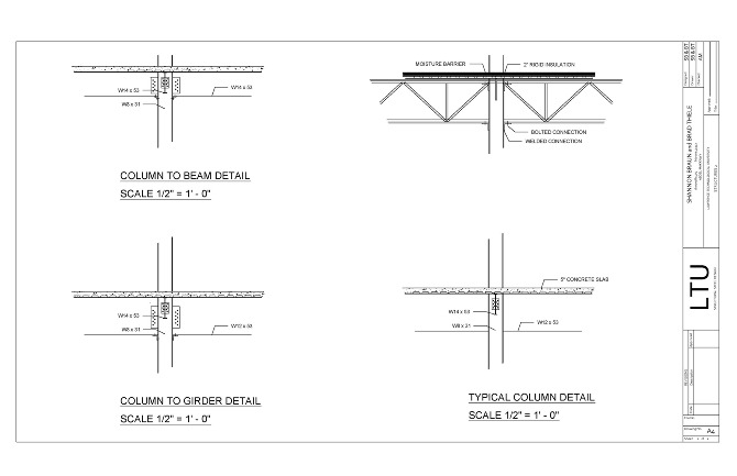 background determining load limits upon steel structures this project focused on the structural design components required for a building to really hold