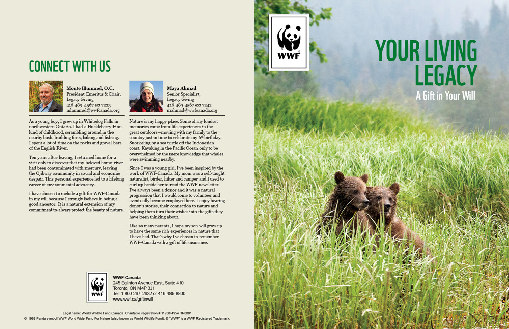 World Wide Fund For Nature Sean Mercer Art Direction Graphic