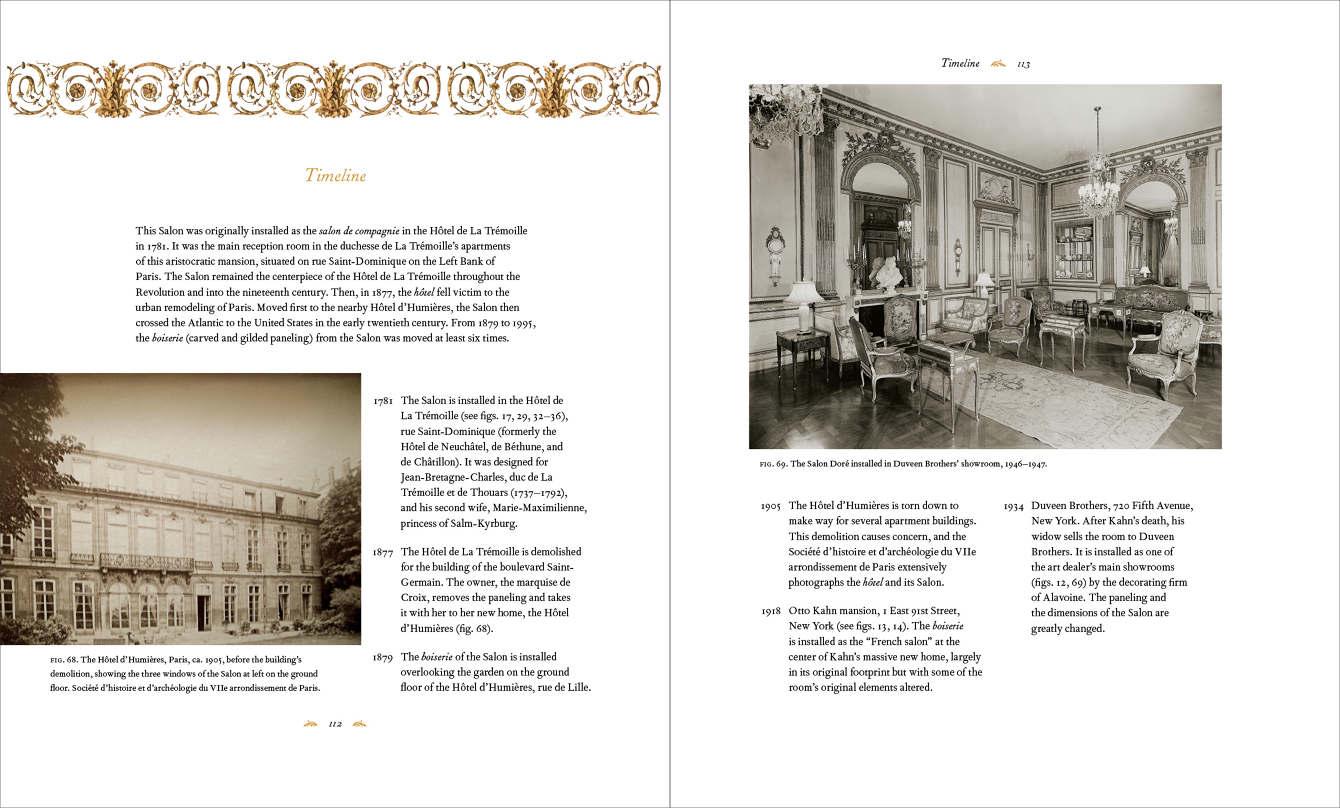 The Salon Dore From The Hotel De La Tremoille Yvonne Tsang