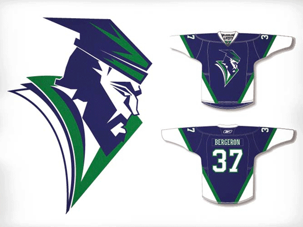 Vancouver Canucks Redesign Russell Holley