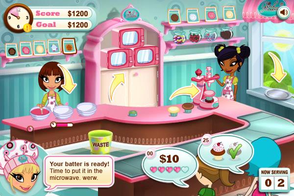 Virtual Cake Designer Games