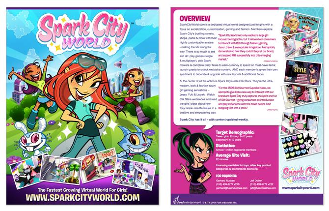 Spark City World Carrie Kanda