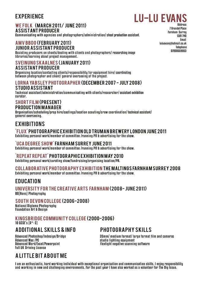 The Best Font For Resume  font for cv  best font to use for a     happytom co