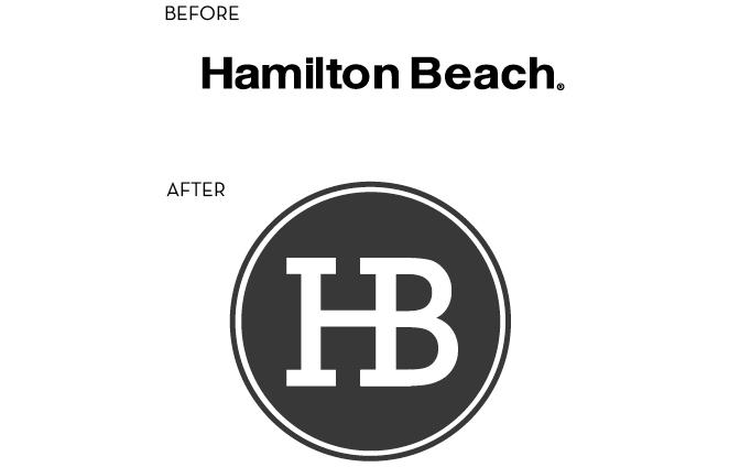 Hamilton Beach Logo hamilton beach rebrand - liz bermea design