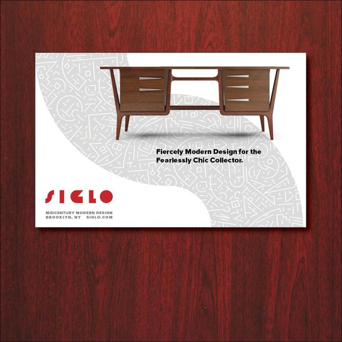 Siglo Mid Century Modern Furniture Dealer Advertising