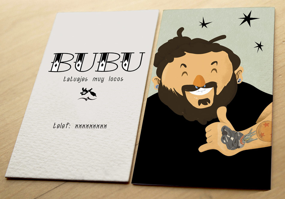 Business Card Celsius Illustration Art Direction