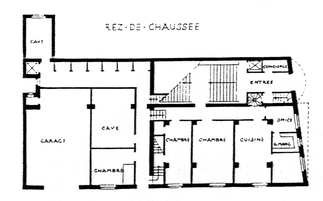 Josephine Baker House Unbuilt Adolf Loos And The Secession