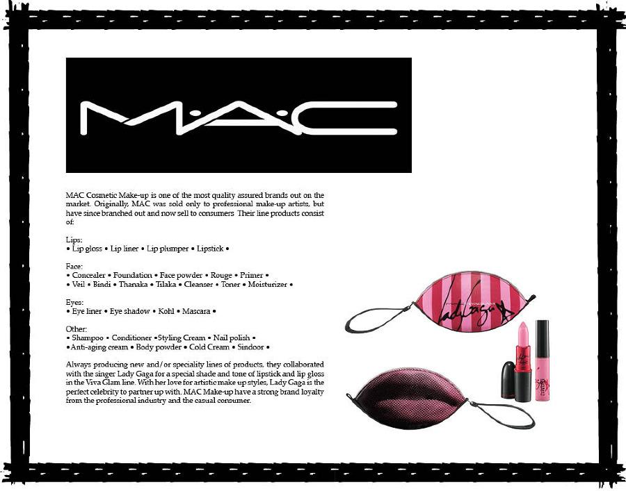Cool Mac Makeup Artist Resume Sample