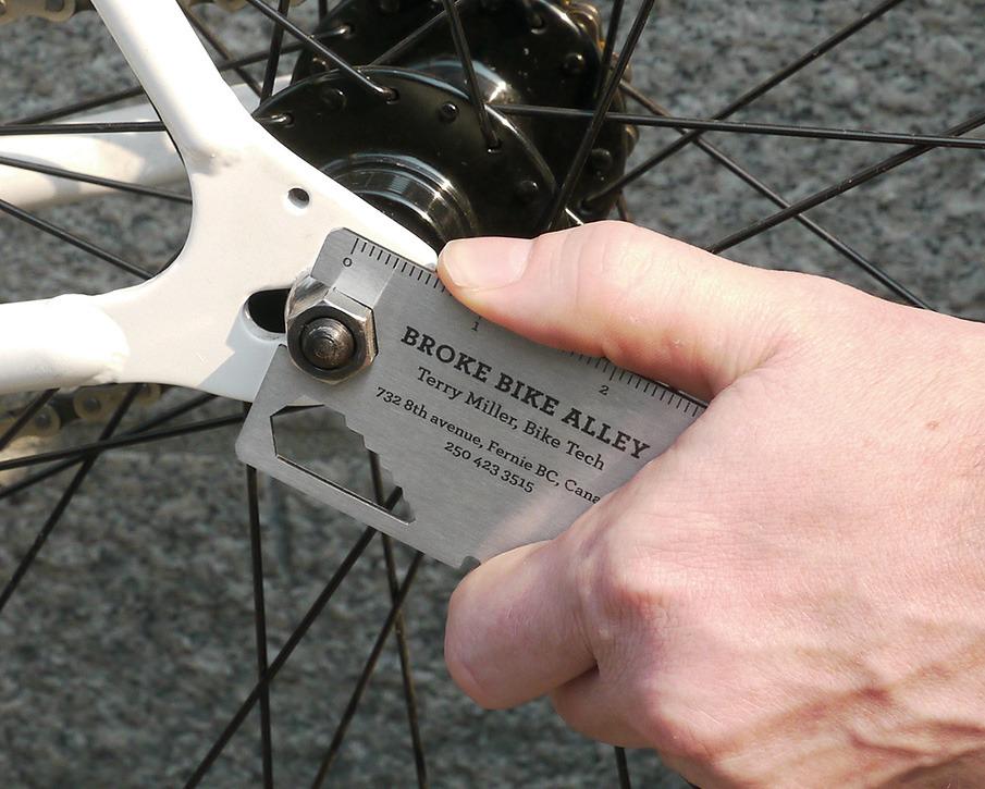 Broke Bike Alley Business Card - Justin Renvoize | Design & Ideas ...