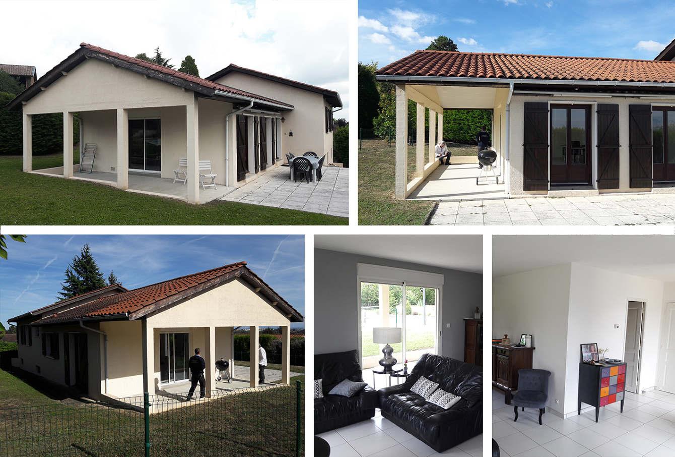 Extension Maison Terrasse Couverte extension à st-cyr-au-mont-d'or - florian presle - design d