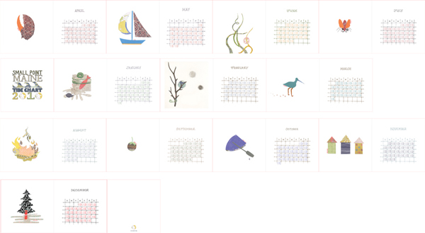 Maine Tide Chart Sara Tierce Hazard