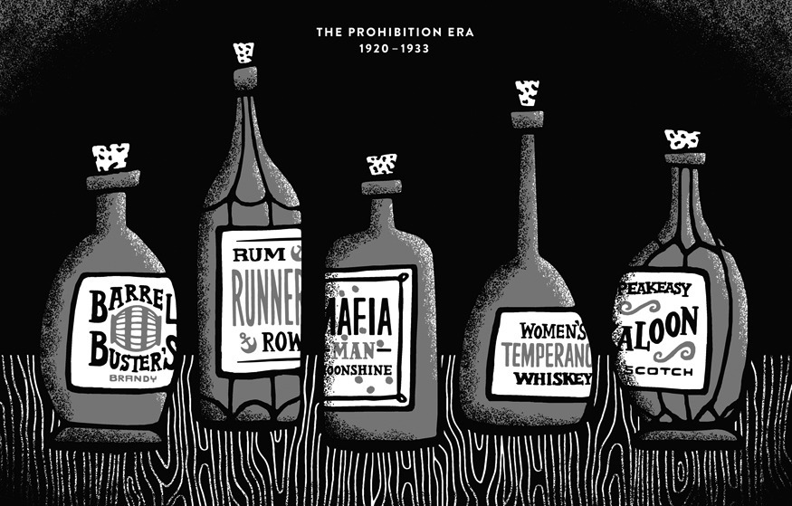 the advocates and antagonists of the prohibition of alcohol in the united states Topical press agency/getty images the idea of banning alcohol in the united states started to pick up steam in the 1830s, long before prohibition was instated many people believed that alcohol was strongly connected to insanity, poverty and many of the world's evils, and so the temperance movement .