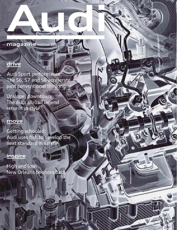 Audi magazines - Hera Cheung
