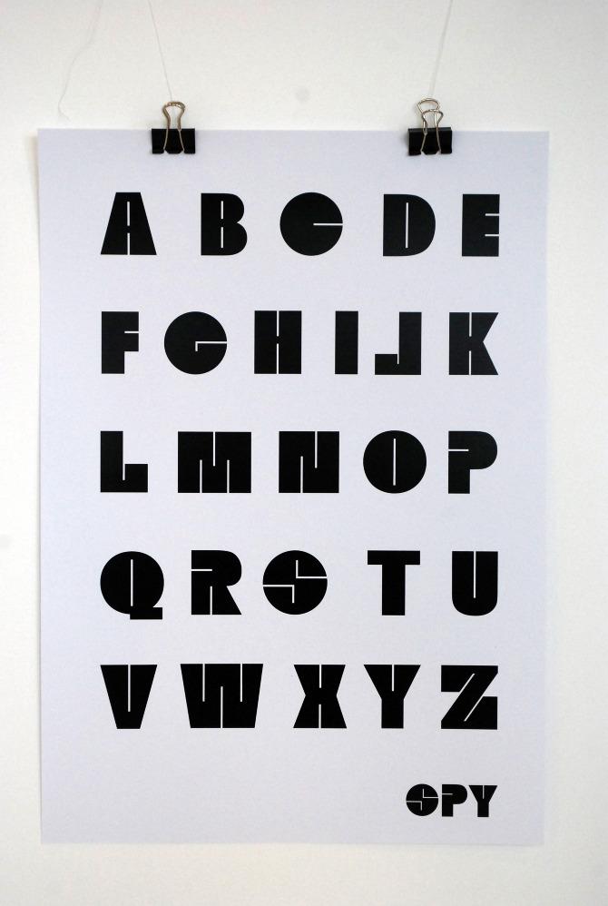 typographie spy
