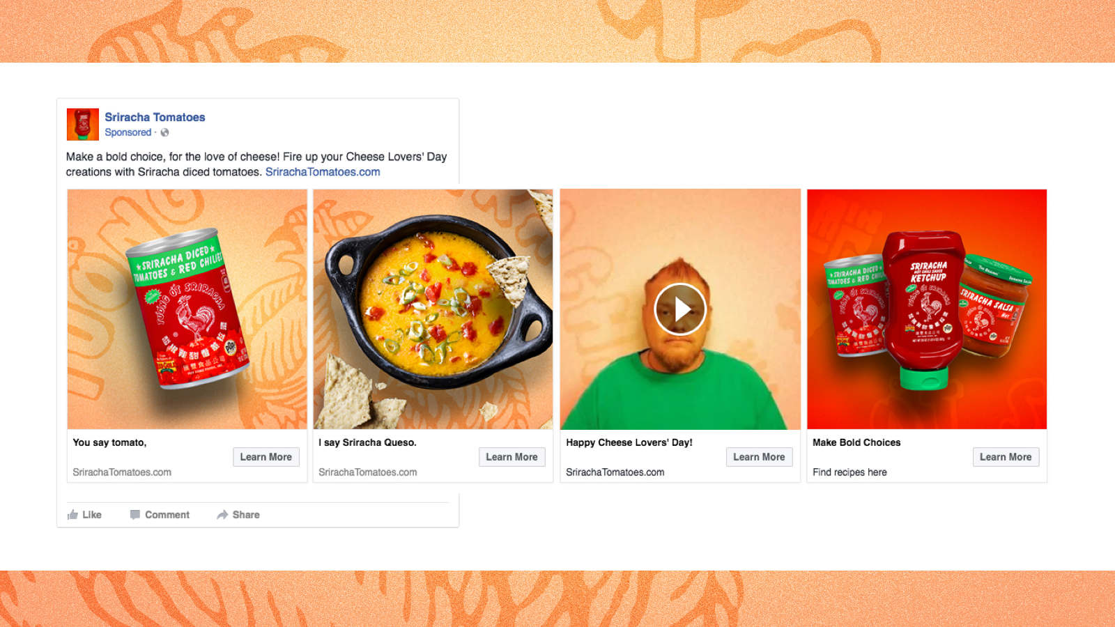Influencers & Paid Social | Sriracha Tomatoes - Caryn Jendro
