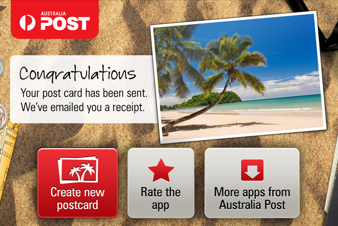 Australia Post Postcards App Dan Leon Krause Digital Designer