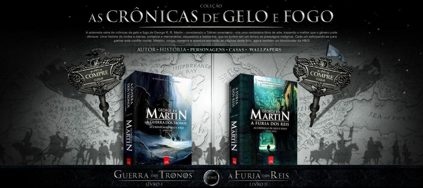 As Cronicas De Gelo E Fogo Rivero
