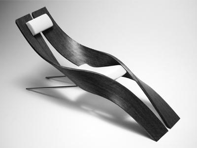 Liegestuhl fredrik ahlm industrial design portfolio for Design liegestuhl