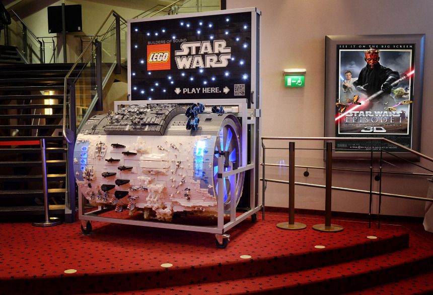 Builders Of Sound The Lego Star Wars Organ Lorenz Lnggrtnr