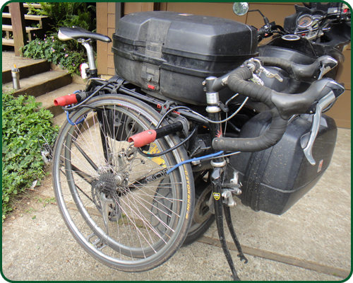 Motorcycle Bike Rack Creatid