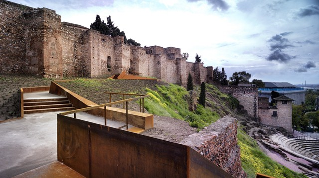 Ladera de la alcazaba oam arquitectos - Arquitectos malaga ...