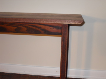 Walnut Tribal Coffee Table Daniel Mayo Fine Woodworking