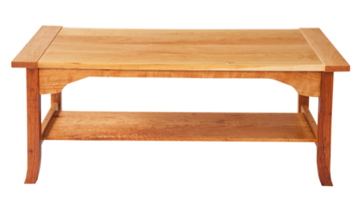 Arts And Crafts Cherry Coffee Table Daniel Mayo Fine Woodworking