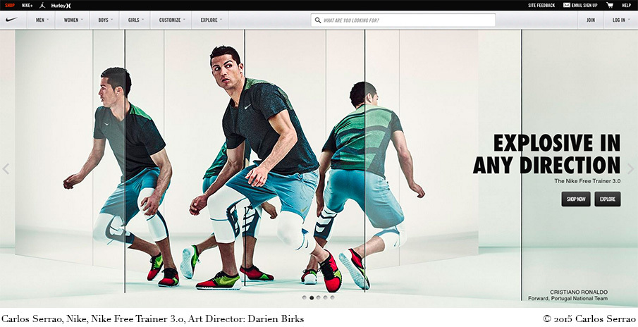 huge selection of 9e71f 333d9 Cristiano Ronaldo in the Nike Free Trainer 3.0 by Carlos Serrao - Portus  Imaging Blog