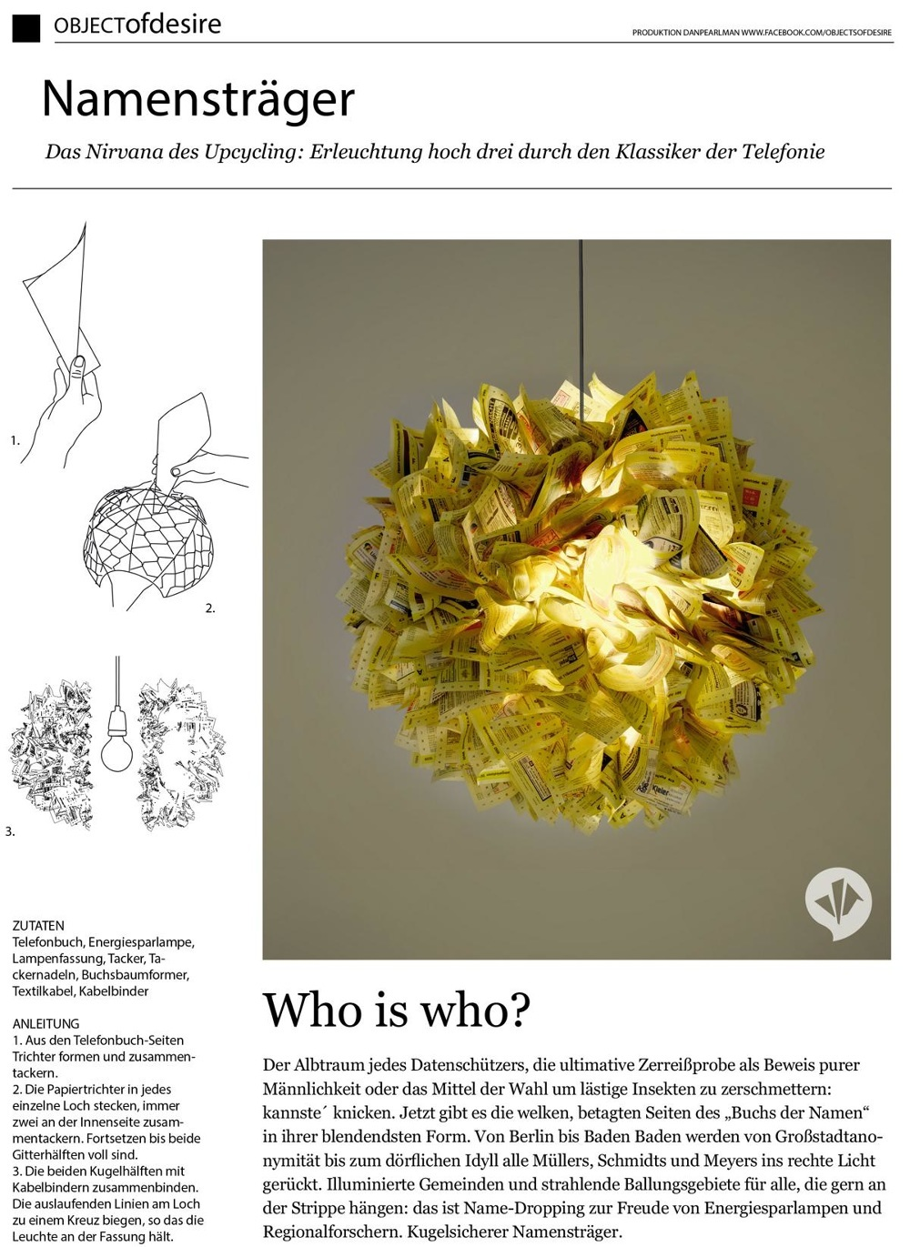objects of desire - monthly column for h.o.m.e. magazine - jonas