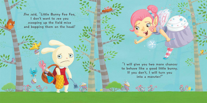 Little Bunny Foo Foo Cori Doerrfeld Illustration