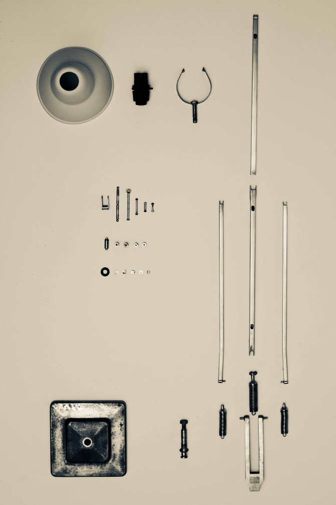 LED anglepoise lamp by Henry Wilson