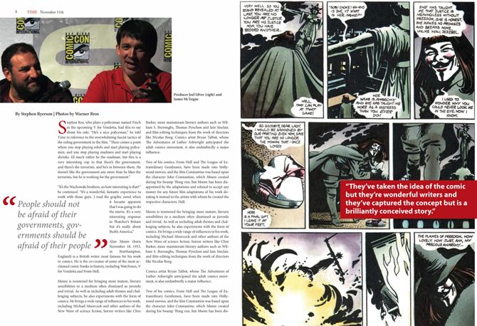 time magazine - v for vendetta