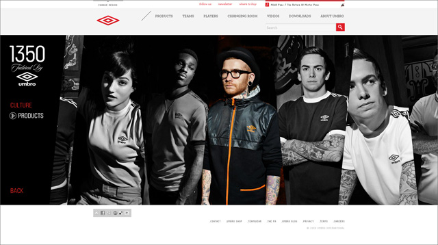 umbro website