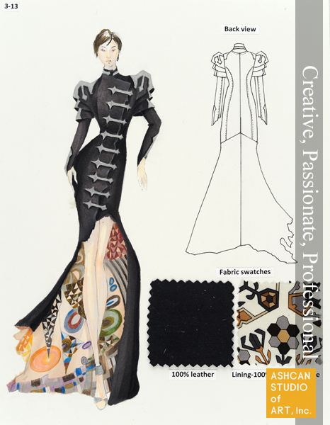 09 Hyemin Cho Scad Fashion Design Graduate 2yr Scholarship Ashcan Studio Of Art Inc