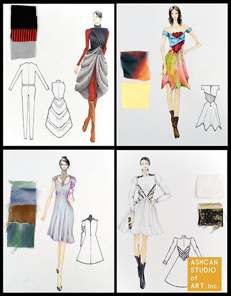 13 Soyeon Jung Parsons Fashion Design 4yr Scholarship Ashcan Studio Of Art Inc