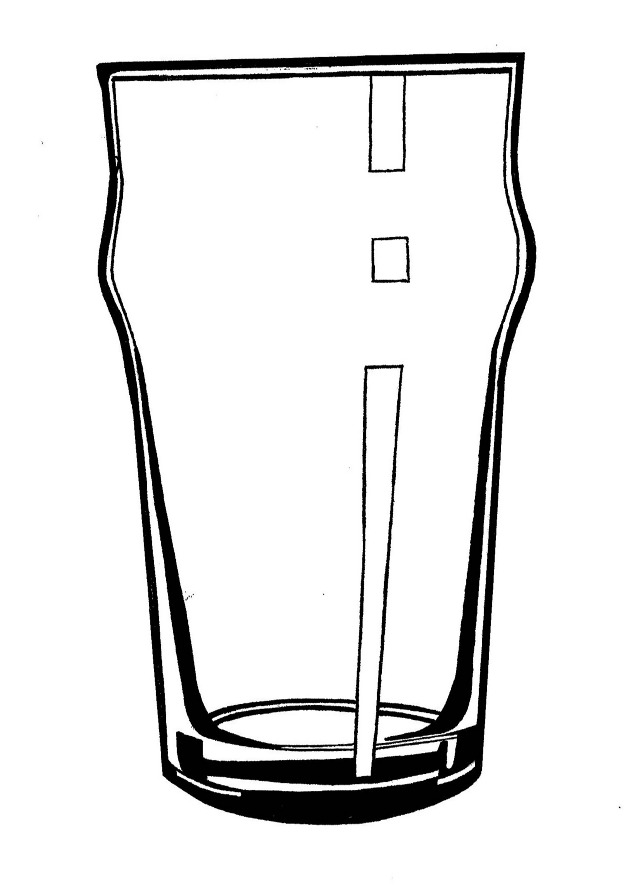One Line Art Beer : Beer glass drawing pictures to pin on pinterest daddy