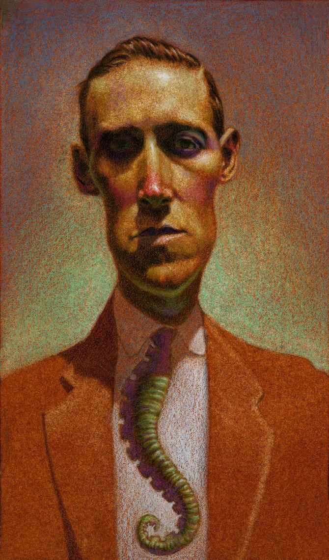 H P  Lovecraft - He Draws - The Art of Matt Buck