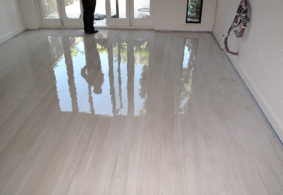 Lime-washed Tasmanian Oak Flooring - Private Residence - Paddington ...