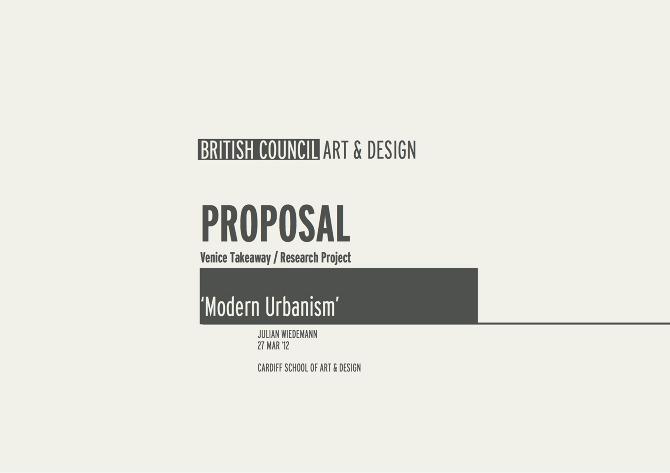 Venice Takeaway Bienale Modern Urbanism Julian Wiedemann
