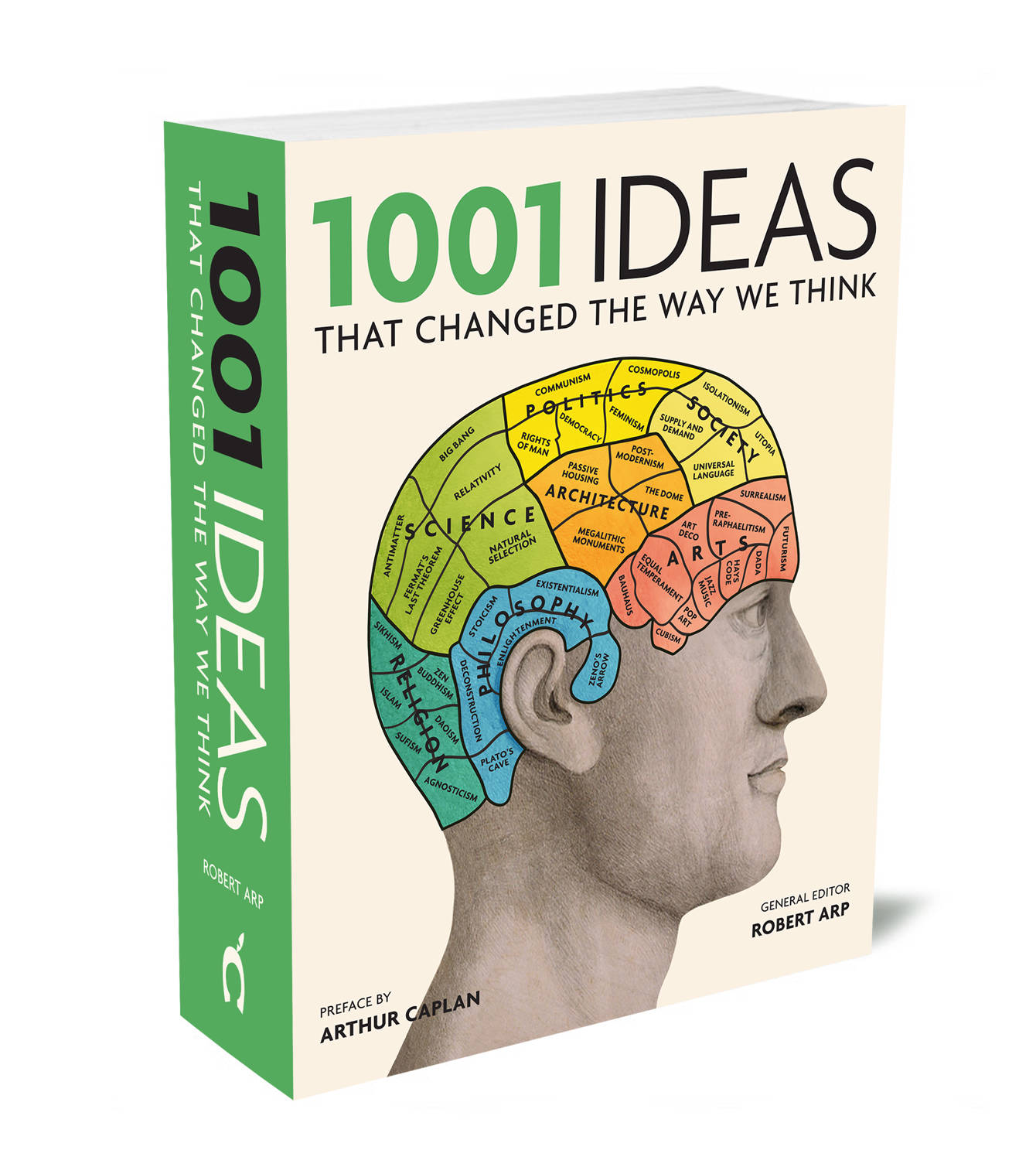 1001 Ideas that Changed the Way We Think General editor Robert Arp, preface  by Arthur Caplan