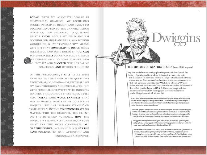 thesis graphic design