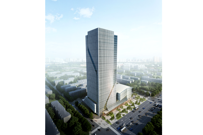 Office Block Design To Concept Design For Macalline Office Tower Taiyuan China Previous Next Image 1 Of 2 2013 China