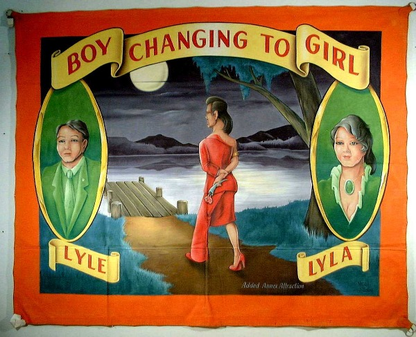 Boy Changing To Girl By Johnny Meah Intuitive Eye